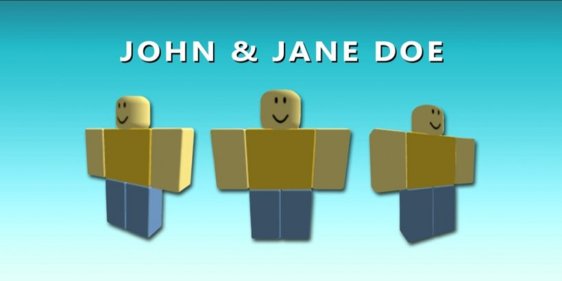 Roblox John Doe - The complete story