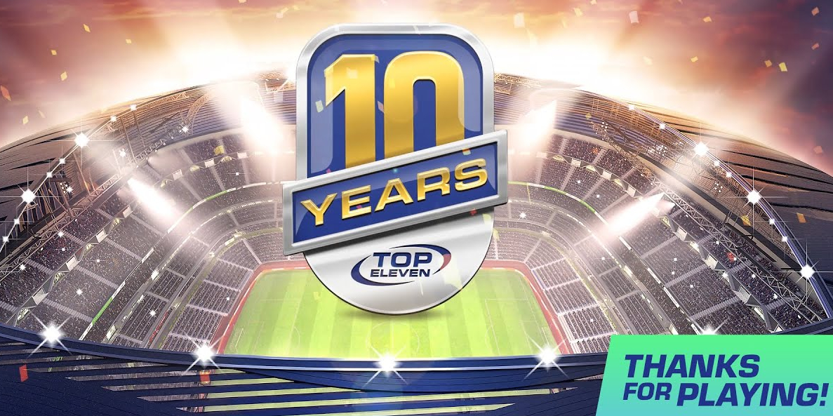 Top Eleven 10th anniversary interview: From humble beginnings to mobile gaming's biggest football management sim