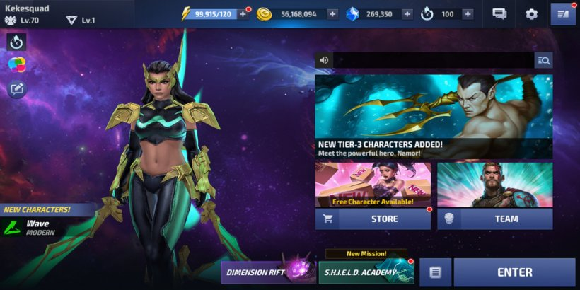 Marvel Future Fight update brings Wave, a new raid boss and it's out now