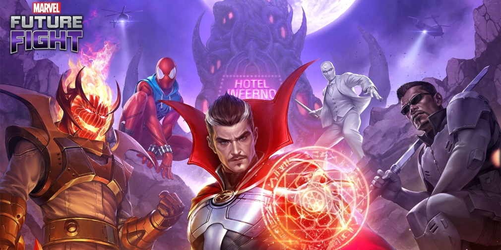 Marvel Future Fight's latest update introduces new Doctor Strange content, characters, uniforms and more