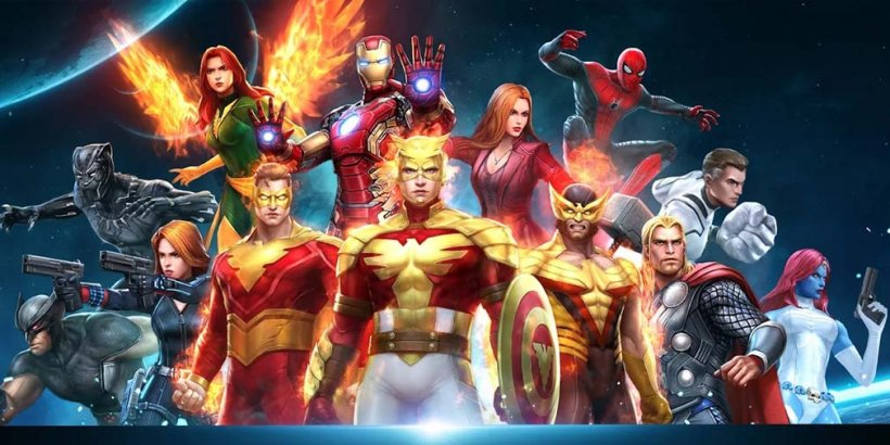 Marvel Future Fight adds new Artifact system and Phoenix Force-themed uniforms in latest update