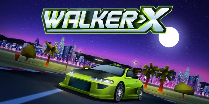 Horizon Chase Mobile Edition boosts fast-paced street racing with new Walker-X DLC