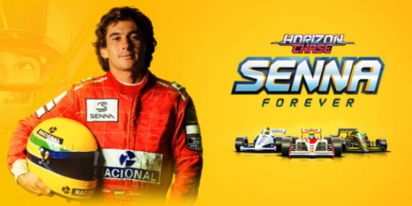 Horizon Chase pays tribute to legendary race driver Ayrton Senna in new Senna Forever expansion
