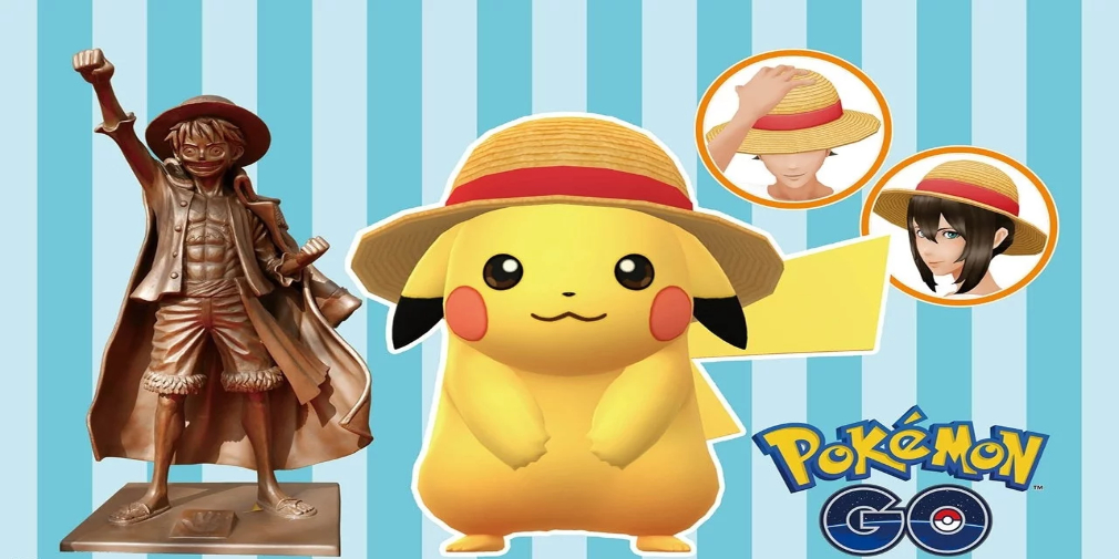 Pokemon Go and One Piece come together for a bizarre crossover event