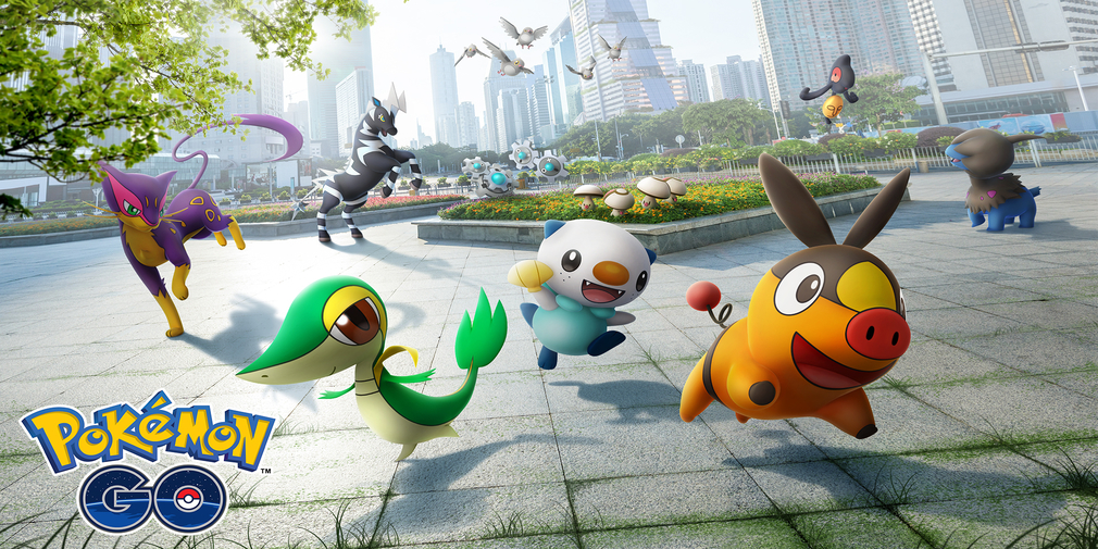 Unova region Pokemon are heading to Pokemon Go later today alongside new shinies to find