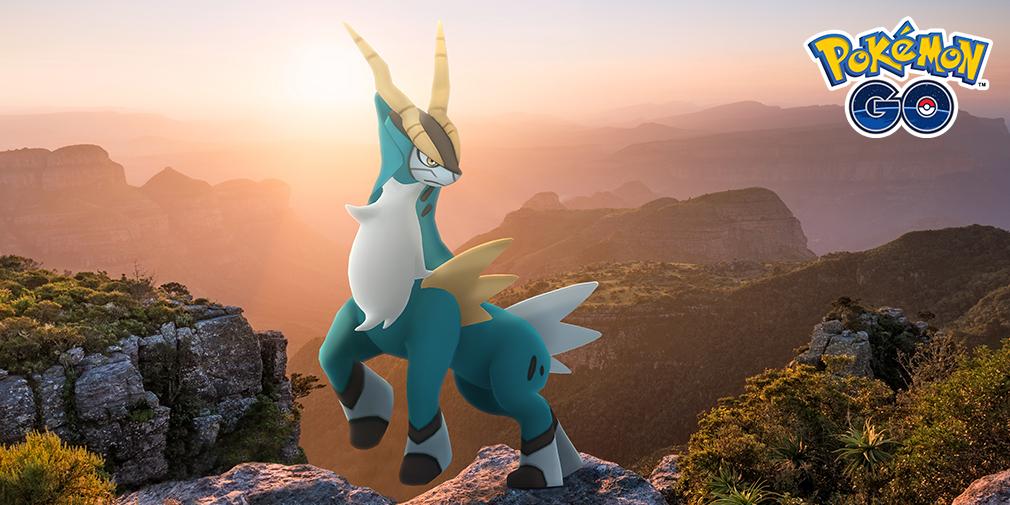 Cobalion makes its legendary Pokemon Go debut on November 4th