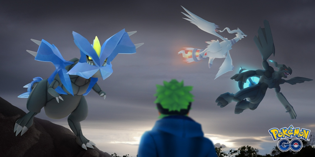 Pokemon Go will soon see the arrival of Reshiram, Zekrom and Kyurem in five-star raids