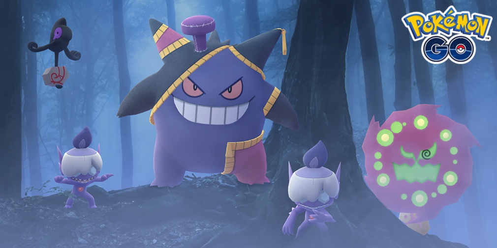 Pokemon Go Halloween Event Adds Shiny Spiritomb And More
