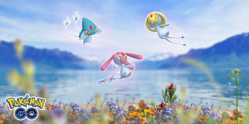 Uxie, Mesprit, and Azelf will return to Raids in Pokemon Go next week for a limited-time