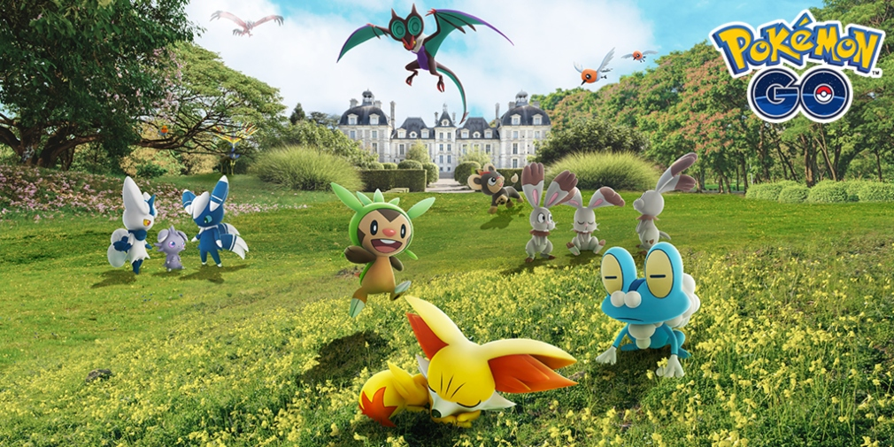 Pokemon Go's Kalos Celebration Event is now underway with Pokemon from the region appearing in the wild