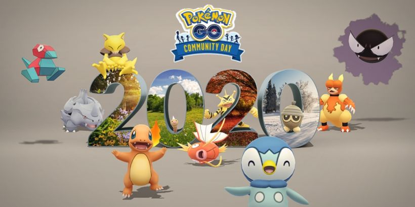 Pokemon Go's final Community Day of the year will see featured Pokemon from 2019 and 2020 appear in the wild