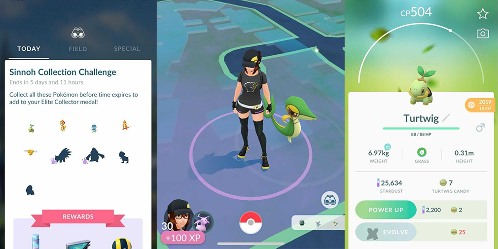 Everything you need to know about the Pokemon Go Sinnoh Challenge