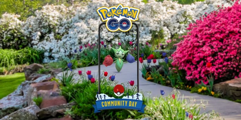 Pokemon Go's February Community Day will feature Roselia, the Thorn Pokemon