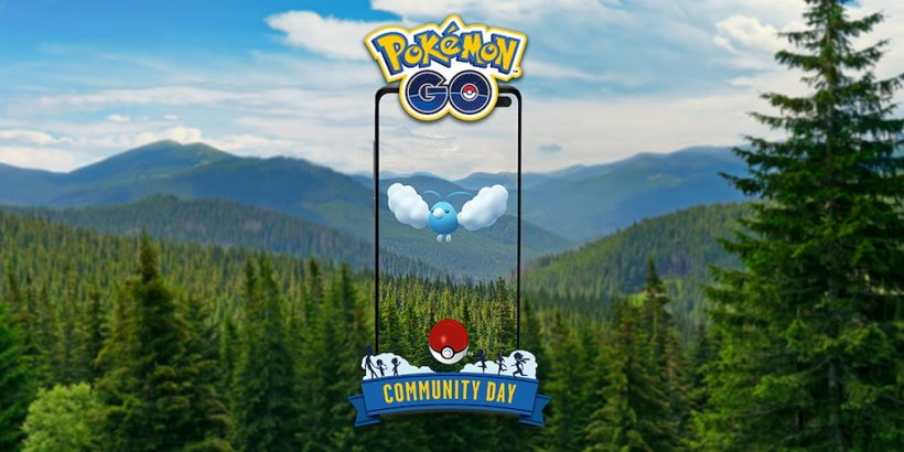 Pokemon Go reveals the details for May's Community Day celebration, with Swablu as the featured Pokemon