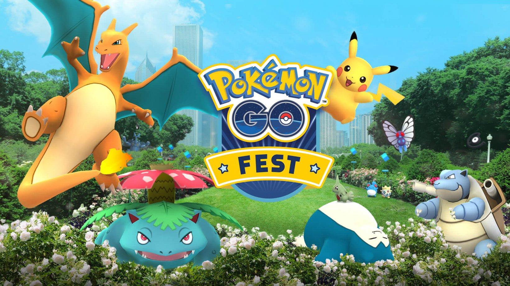 Pokemon GO fest 2021
