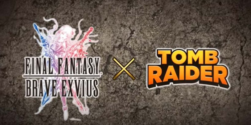 Final Fantasy Brave Exvius x Tomb Raider collaboration event starts today, adding Lara Croft as a playable character