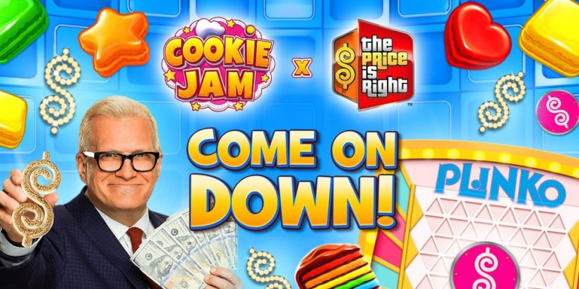 Cookie Jam has announced a collaboration with The Price is Right that gets underway today