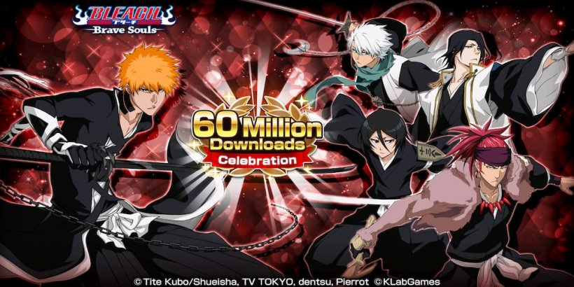 Bleach: Brave Souls to celebrate 60 million downloads worldwide with new events and rewards