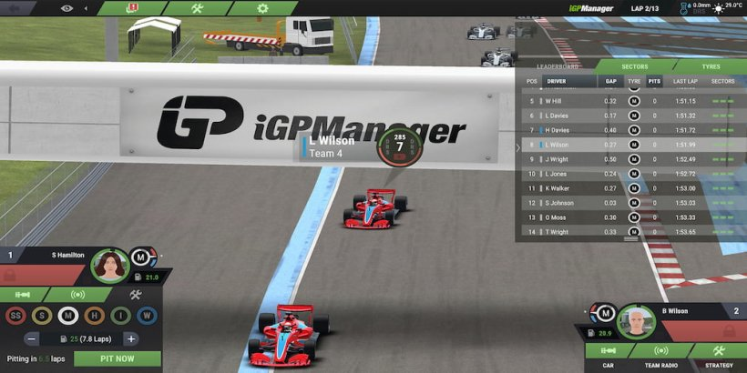 iGP Manager's latest update introduces 3D graphics to the racing management sim