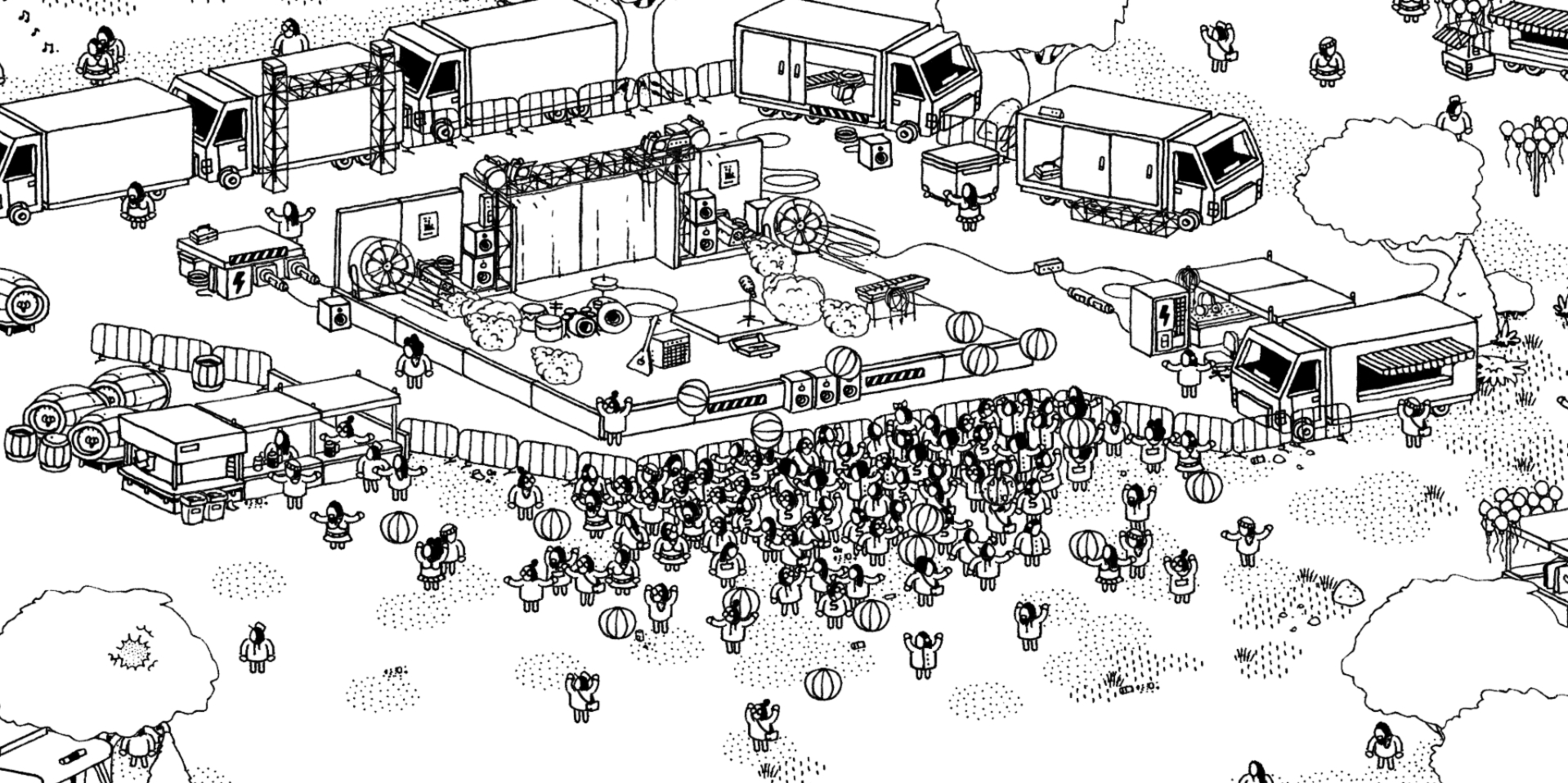"Hidden Folks, the acclaimed and hyper-stylish puzzler, is getting a major ""On Tour"" expansion next month"