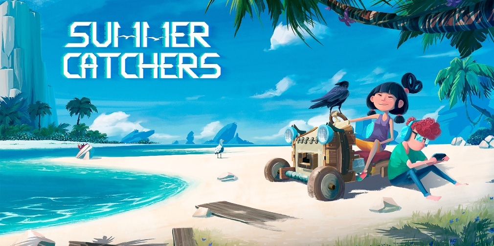Prepare for an epic road trip adventure with Summer Catchers, a gorgeous runner available now for iOS and Android