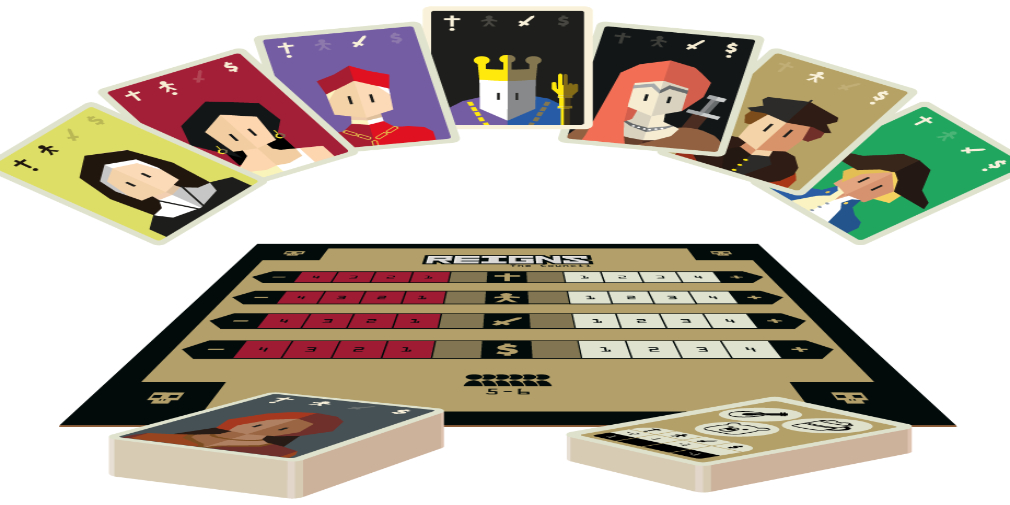 Reigns is getting a board game adaptation called Reigns: The Council
