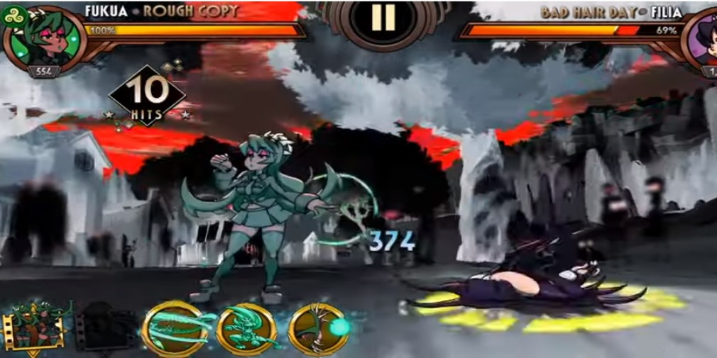 Skullgirls Mobile, the popular fighter for iOS and Android, finally adds fan favourite Fukua to the game