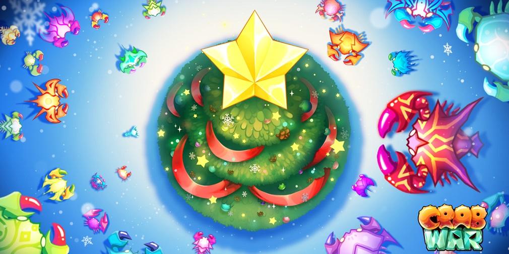 Crab War's new Christmas update features festive treats