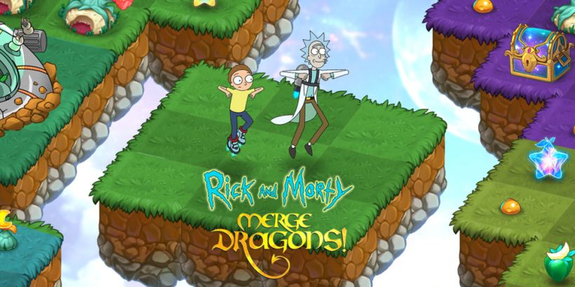 Merge Dragons! teams up with Rick and Morty for some scientific mayhem
