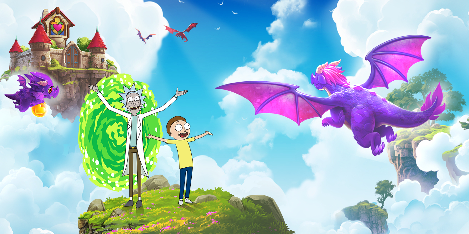 Rick & Morty return to the world of Merge Dragons! for a limited-time event