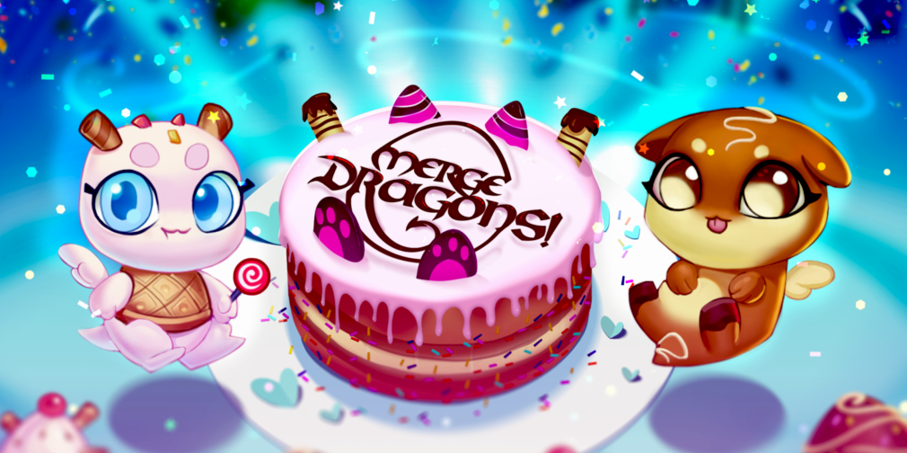 Merge Dragons! celebrates its third anniversary with a dessert-themed in-game event