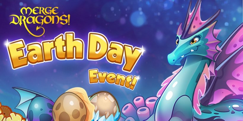 Merge Dragons! will celebrate Earth Day 2021 in its latest event by introducing limited-time dragons