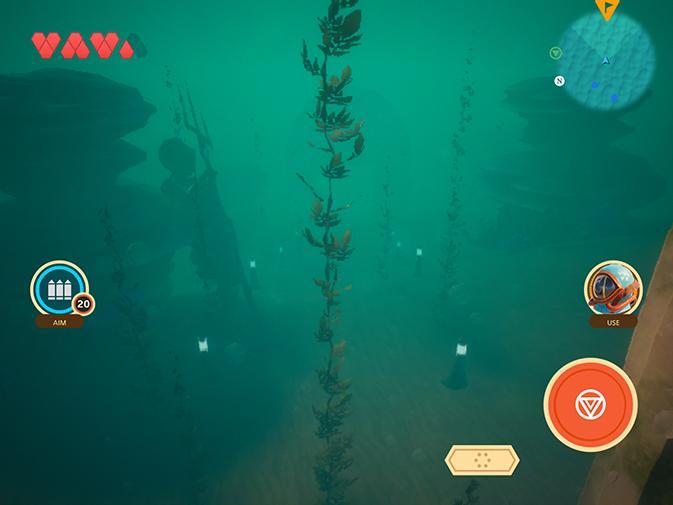 Полное прохождение Oceanhorn 2 - Грозовые камни, получение водолазного шлема, вход в Ootheca и многое другое