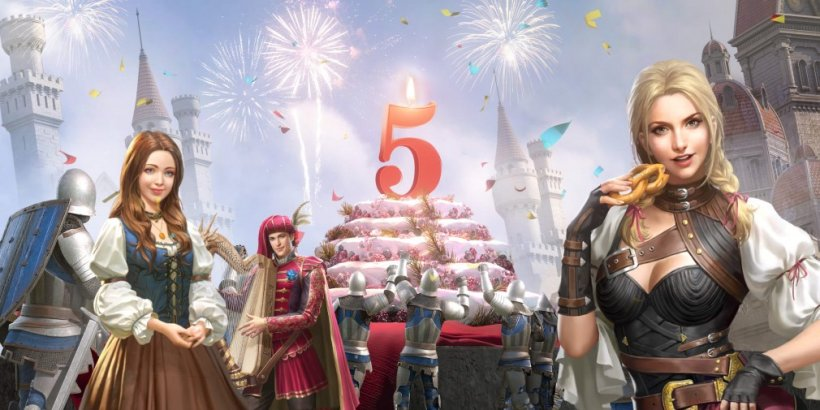 King of Avalon is celebrating its fifth anniversary this month