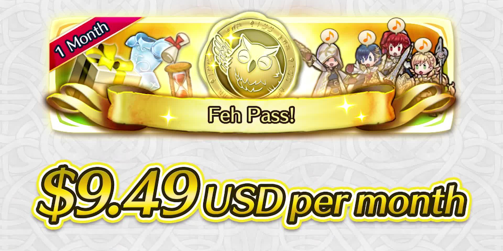 Everything you need to know about Fire Emblem Heroes' $9.49-a-month Feh subscription pass