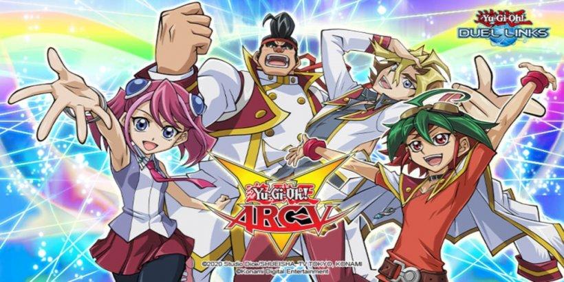 Yu-Gi-Oh! DUEL LINKS x Yu-Gi-Oh! ARC-V goes live next week
