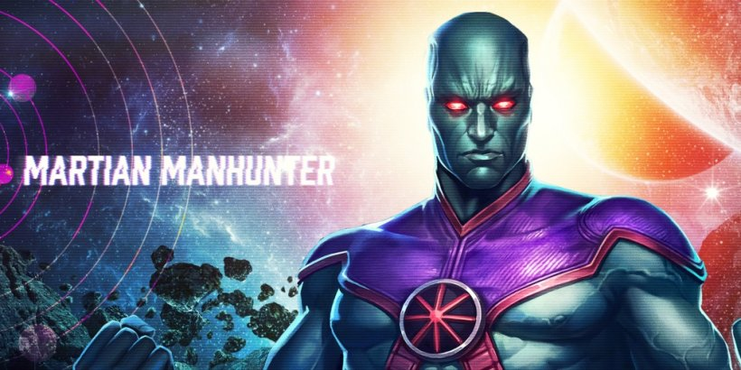 Injustice 2 Mobile has added Martian Manhunter to its ever-growing roster