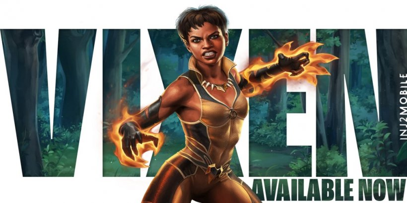 Injustice 2 Mobile's 5.0 update introduces new hero Vixen and major progression upgrades