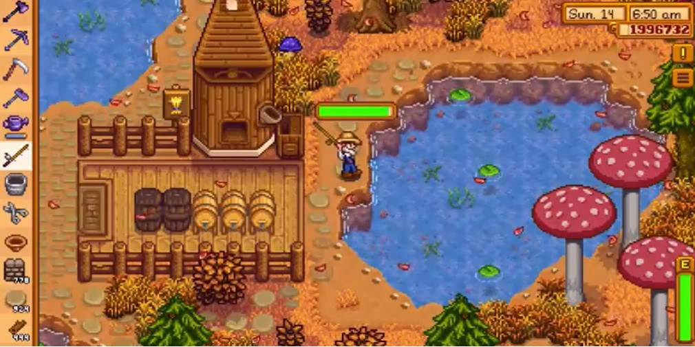Stardew Valley's latest update features fish ponds, new events, and more