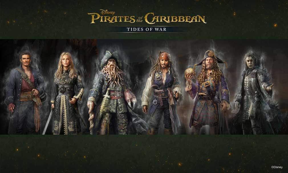 Celebrate Pirates of the Caribbean: Tides of War's third anniversary