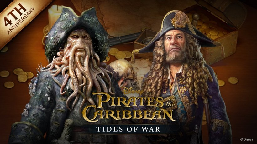 Pirates of the Caribbean: Tides of War celebrates 4th anniversary with sweepstakes event, two tacticians, and a hellish new ship