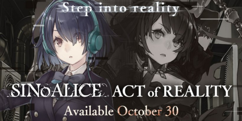 SINoALICE's next story update, the Act of Reality, will arrive on October 30th