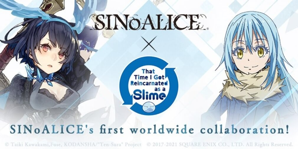 SINoALICE's latest collaboration sees the RPG team up with the anime That Time I Got Reincarnated as a Slime