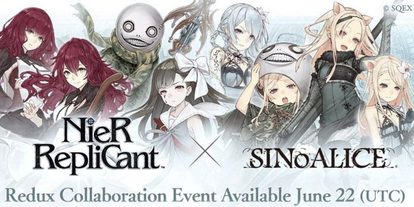SINoALICE x NieR Replicant Redux collab event brings new characters, login bonuses, and a hoodie giveaway