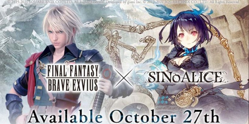 SINoALICE Global's Final Fantasy Brave Exvius crossover event lands on mobile on October 27th