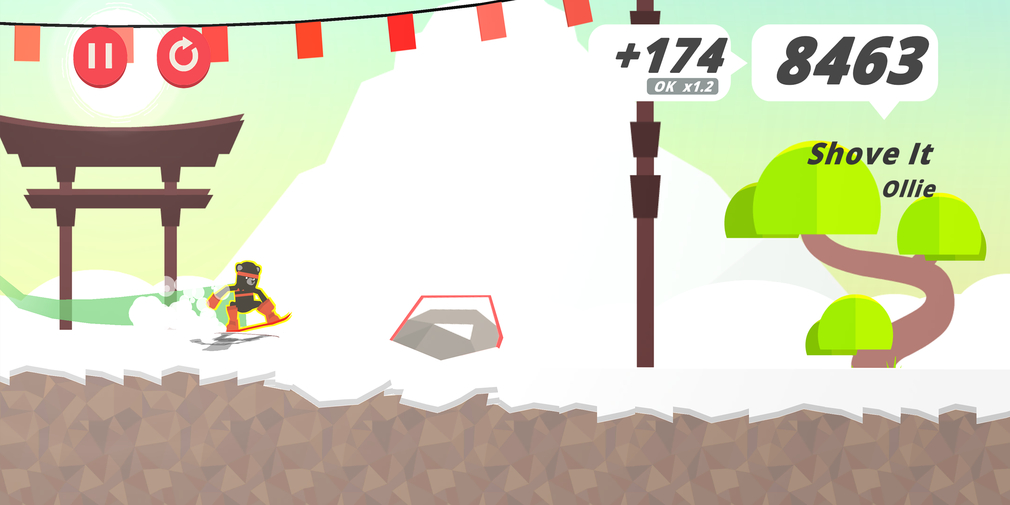 Stomped! is a snowboarding game from the prolific Noodlecake Studios and it's available now