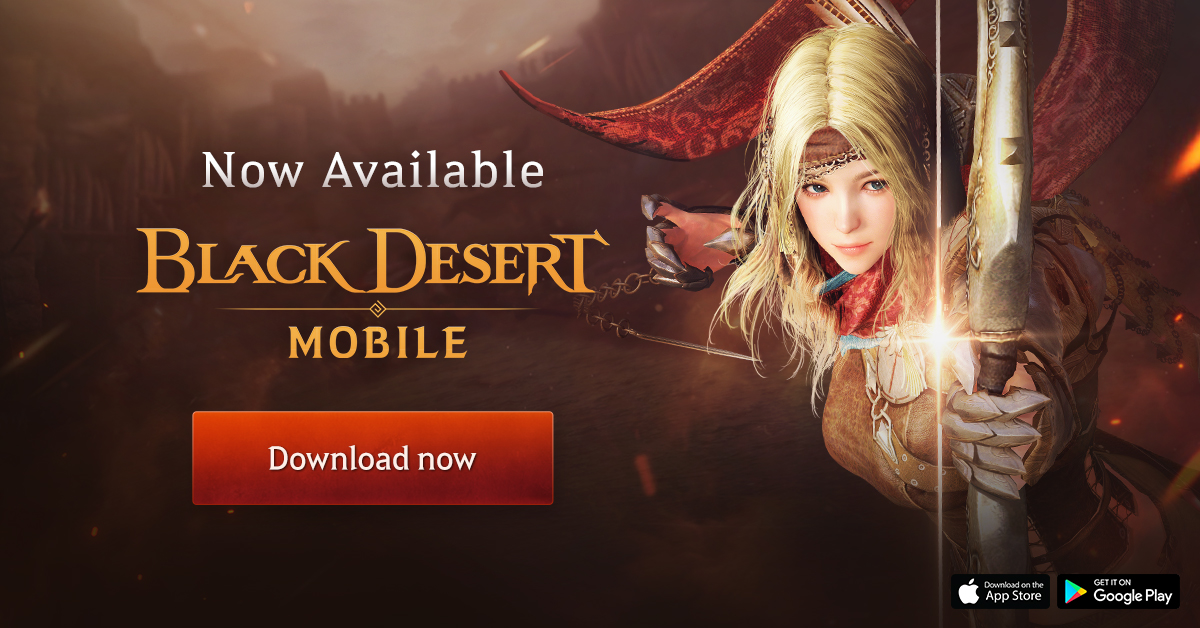 Black Desert Mobile, Pearl Abyss' long-awaited fantasy MMO, launches globally for iOS and Android