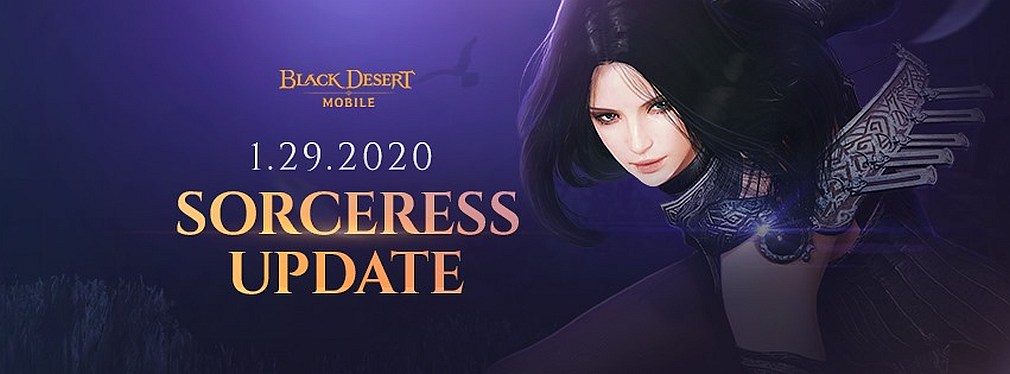 Black Desert Mobile's first post-launch character class is the high-damage Sorceress
