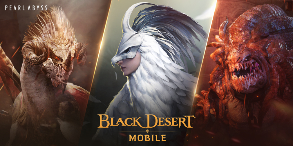 Black Desert Mobile's World Boss Season 2 begins and Dark Knight class opens for pre-registration
