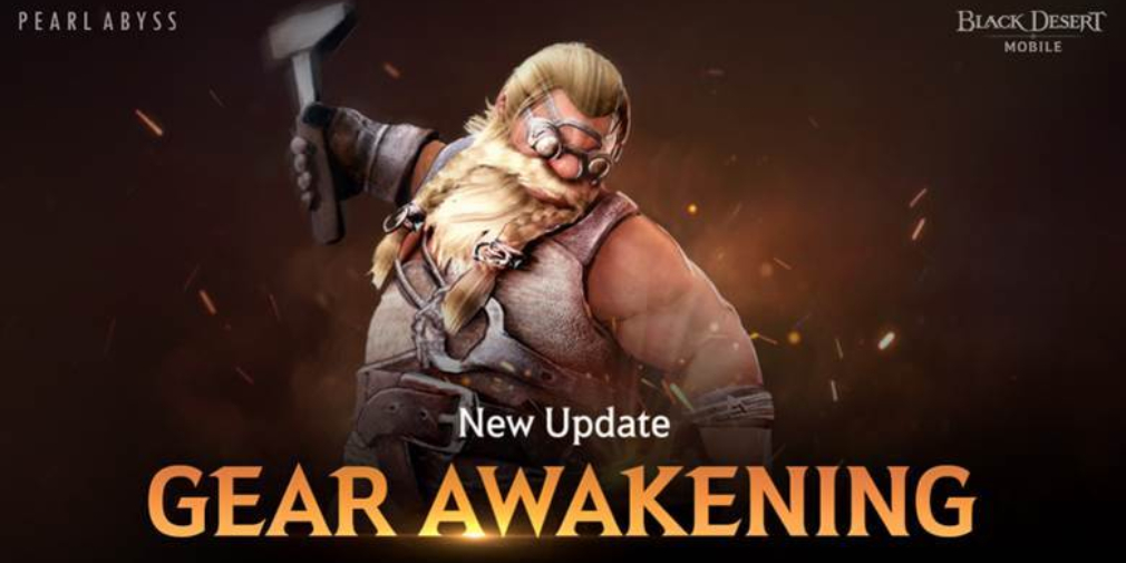 Black Desert Mobile introduces Gear Awakening system and an EXP buff for alt characters